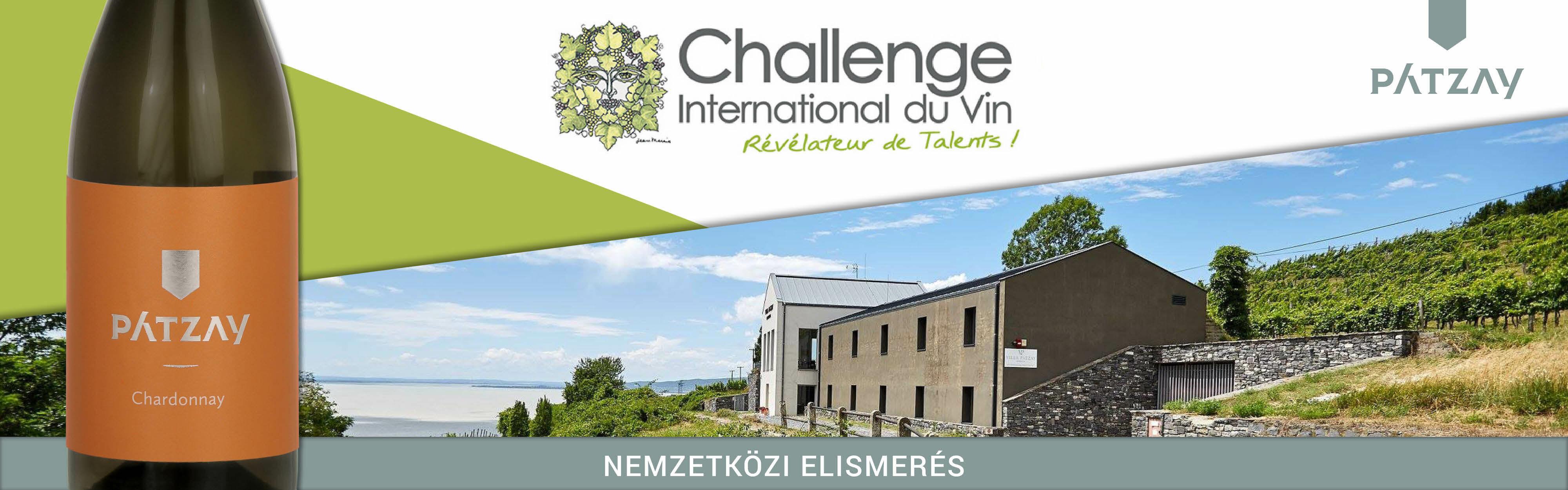 Pátzay Chardonnay - Érem