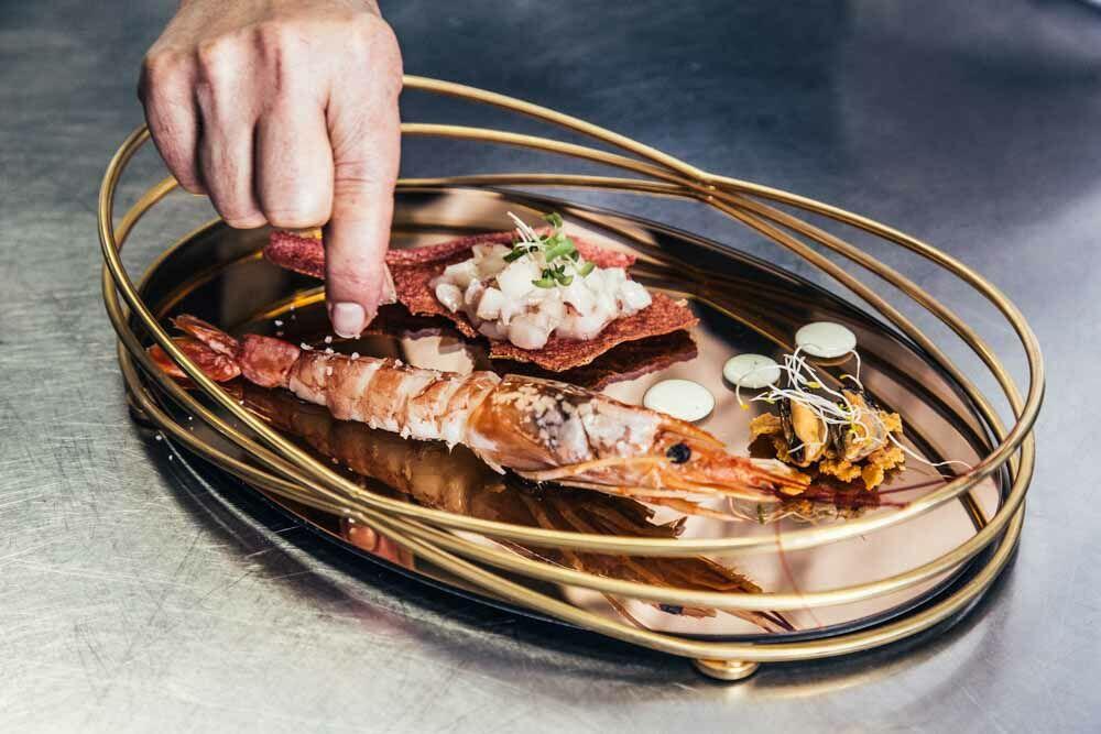 Olasz gasztronómia - Olasz borok - Michelin csillagos étteremben
