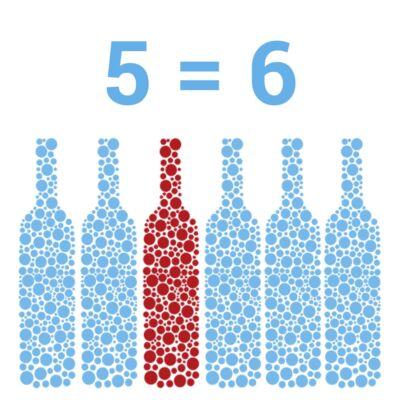 5+1 Ajándék - Bodri Szekszárdi Cabernet Sauvignon CAB 2019 (0,75 l)