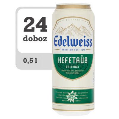 Edelweiss Hefetrüb szűretlen világos búzasör - Online-Veritas