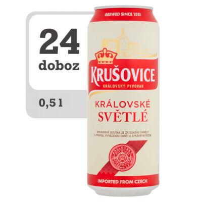 Krušovice Světlé eredeti cseh világos sör - Online-Veritas