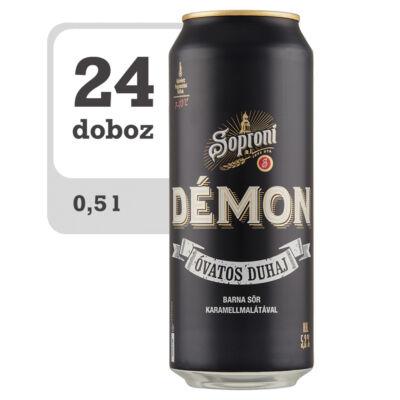 Soproni Óvatos Duhaj Démon minőségi barna sör-Online-Veritas