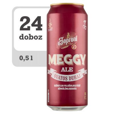Soproni Óvatos Duhaj Meggy Ale szűretlen felsőerjesztésű sörkülönlegesség -Online-Veritas