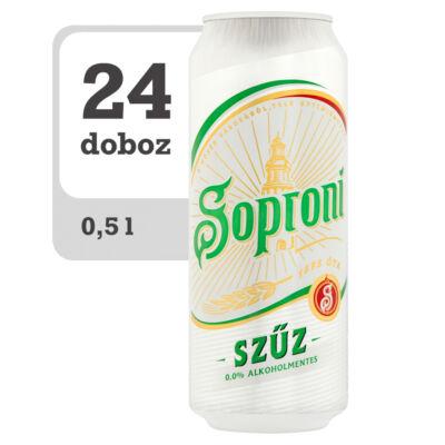 Soproni Szűz alkoholmentes világos sör -Online-Veritas