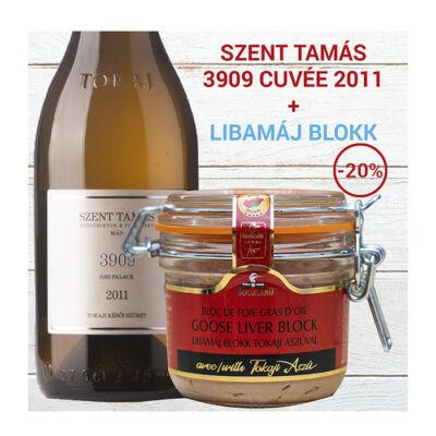 Libamáj Blokk - Szent Tamás 3909 Késői szüretelésű édes cuvéevel