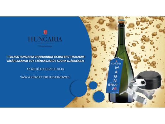 Hungaria Pezsgő Chardonnay Magnum