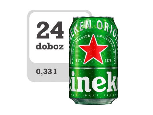 Heineken minőségi világos sör-Veritas Borwebshop