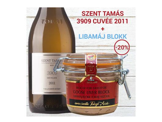 Libamáj Blokk - Szent Tamás 3909  Cuvée 2011  -Veritas-borwebshop