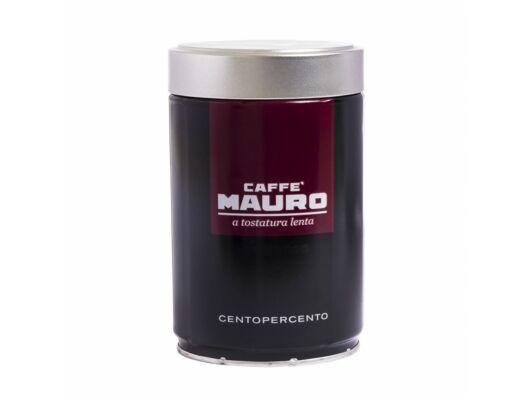 Mauro Centopercento szemeskávé fémdobozos 250g-Veritas Webshop