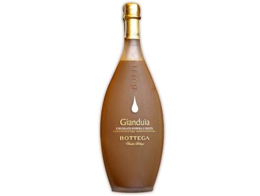 Bottega Crema Gianduia Paestum - mogyorós tejcsoki - olasz-likőr-Veritas-borwebshop