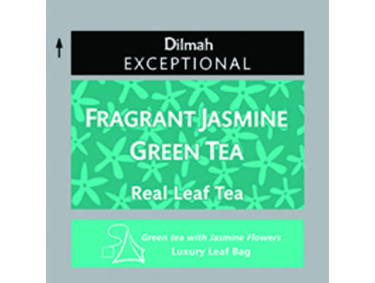 Dilmah exceptional fragrant jasmin green tea -Veritas Borwebshop