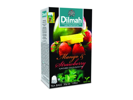 Dilmah mangó eper fekete tea-Veritas Borwebshop