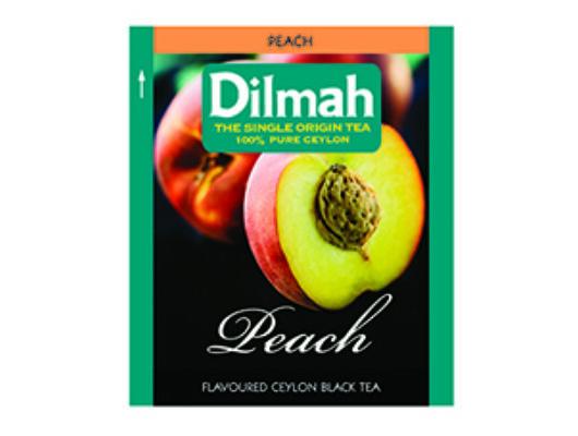 Dilmah peach- őszibarack tea-Veritas Borwebshop