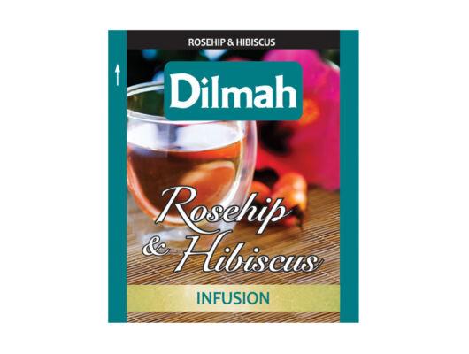 Dilmah rosehip hibiscus- csipkebogyó-hibiszkusz -Veritas Borwebshop