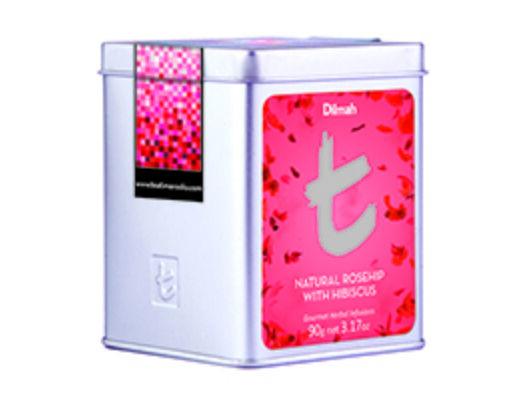 Dilmah t_series rosehip with hibiscus flower (szálas)-Veritas Borwebshop