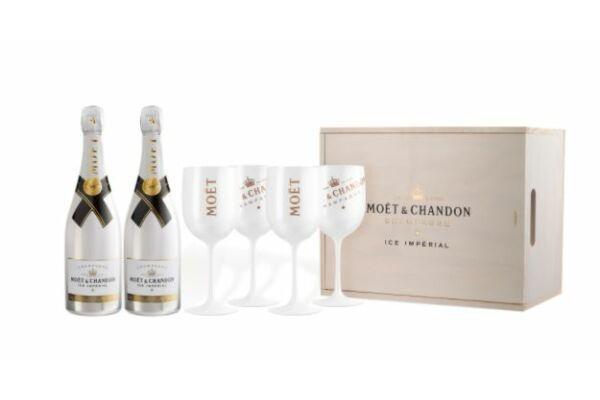 Moët & Chandon csomag - exkluzív poharakkal -Veritas borwebshop