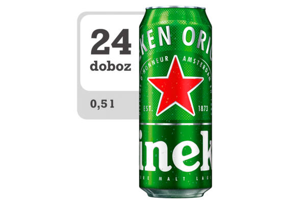 Heineken minőségi világos sör - Online- Veritas