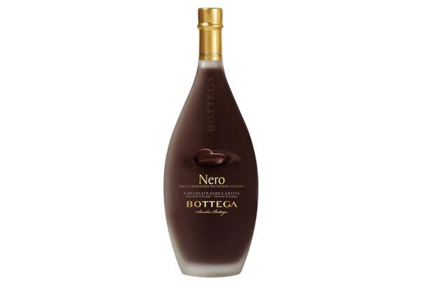 Bottega Grappa Nero - feketecsokoládés likőr - olasz-likőr-Veritas-borwebshop